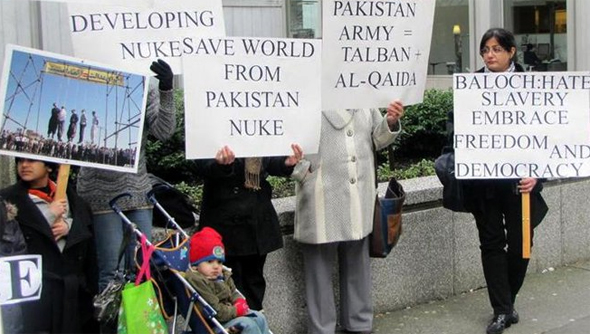 Image result for VANCOUVER: Baloch activists